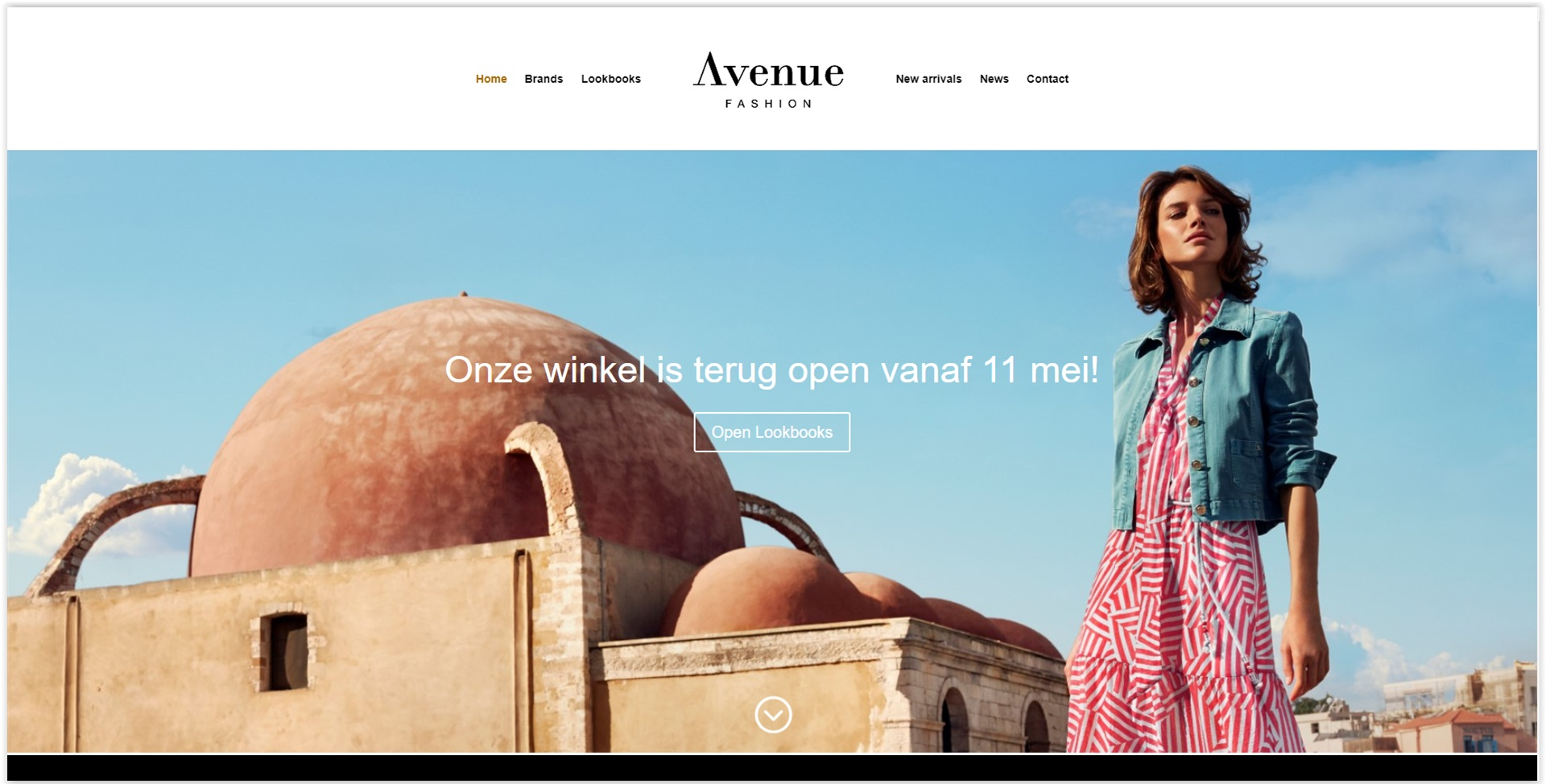 Avenue Fashion Website